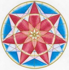 2015 12 Sagittarius New Moon Mandala Keefer 1