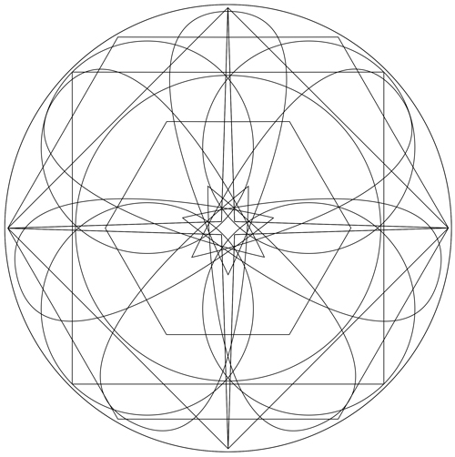 2015 Virgo Mandala courtesy of ZodiacArts.com