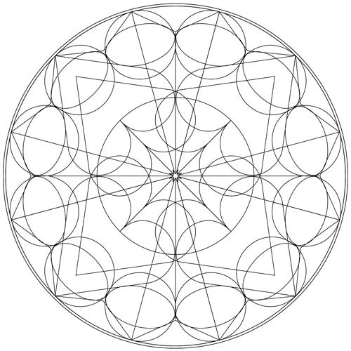 2016 Libra New Moon Mandala
