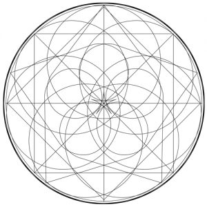 2016 Virgo New Moon Mandala