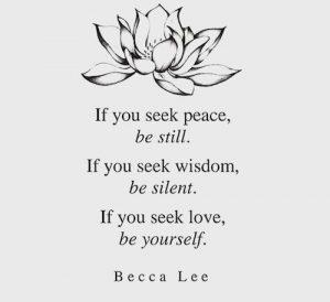 Peace Wisdom Love