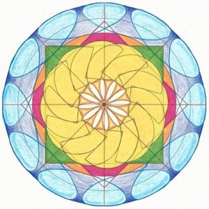 2015 Cancer New Moon Mandala © Lynn Keefer